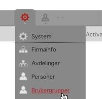 Klikk på brukergrupper