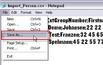 Feilsøking av CSV: Lage filen